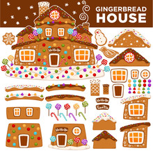 Christmas Gingerbread House Co...