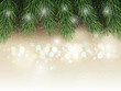 Christmas background lightly white fir tree background.