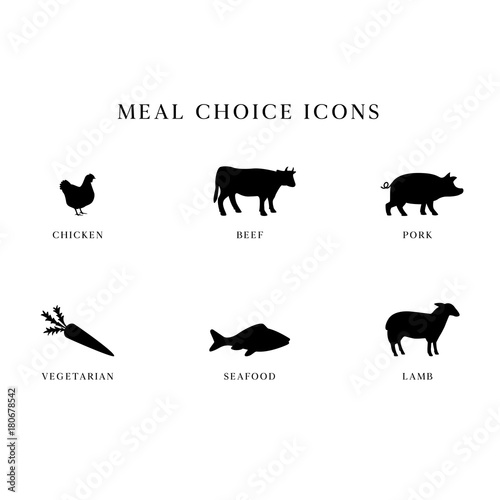 Photo  Meal Choice Icons