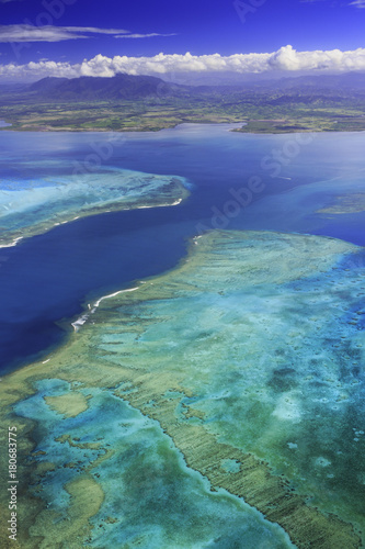 Fototapeta Rafa Koralowa Voh Nowa Kaledonia