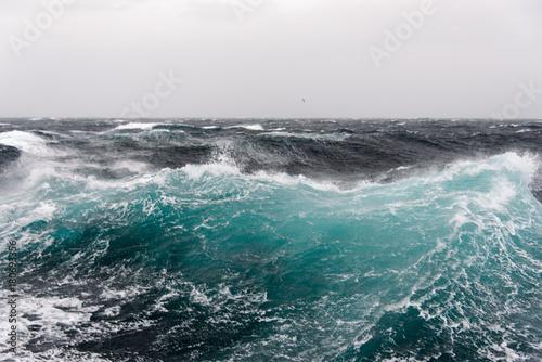 Poster Zee / Oceaan Stormy sea