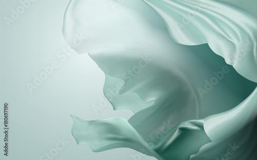 Fotografie, Obraz  Silky chiffon elements