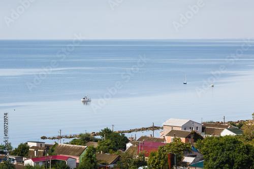 Aluminium Prints Canada View to the Sea of Azov from Berdyansk, Ukraine