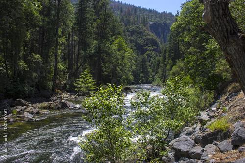 Views of Yosemite Valley in Yosemite National park, Eastern California Canvas Print