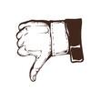 vintage hands logo