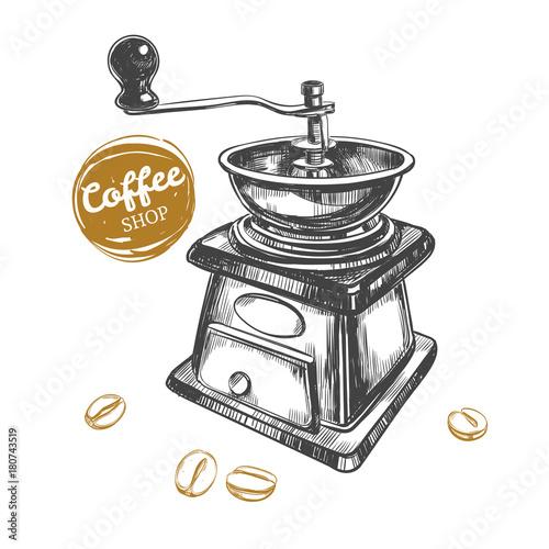 Photo  Coffee grinder