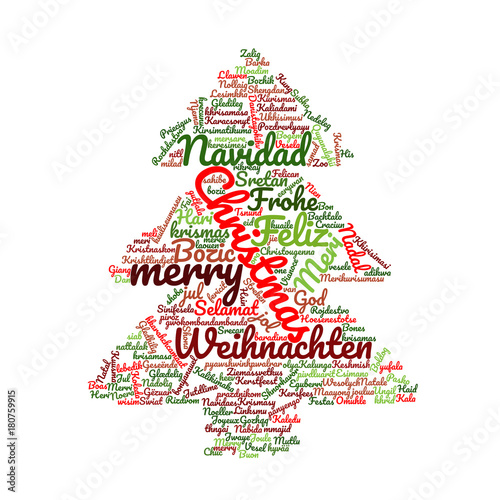 Frohe Weihnachten Auf Allen Sprachen.Frohe Weihnachten In Verschiedenen Sprachen Kaufen Sie Diese