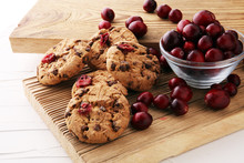 Delicious Cranberry Cookies Wi...