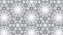 Abstract Background With Silver Kaleidoscope. 3d Rendering