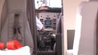 Pilot prepares aeromedical evacuation kingair aircraft