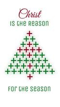 Christmas Tree And Cross Conce...