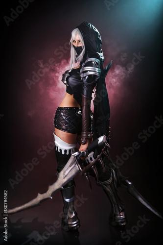 Obraz na plátně vella cosplay warior