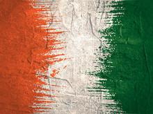 Ireland Flag Design Concept. F...
