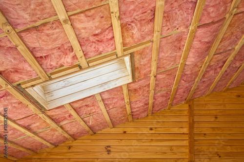 Fiberglass Roof Insulation Canvas Print