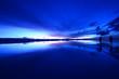 canvas print picture - Dawn in Uyuni salt flat, Bolivia