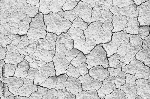 Láminas  Dry cracked earth textured background.
