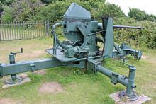 Field Gun At Pendennis Castle,...