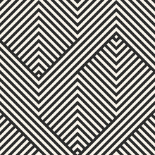 Vector Geometric Lines Pattern...