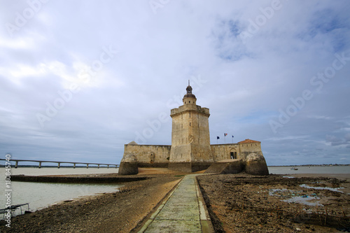 Fortification Fort Louvois in Charente maritime coast