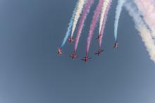 Swansea Air Show Red Arrows Di...