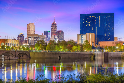 Foto op Plexiglas Texas Indianapolis, Indiana, USA