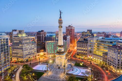 obraz lub plakat Indianapolis, Indiana, USA