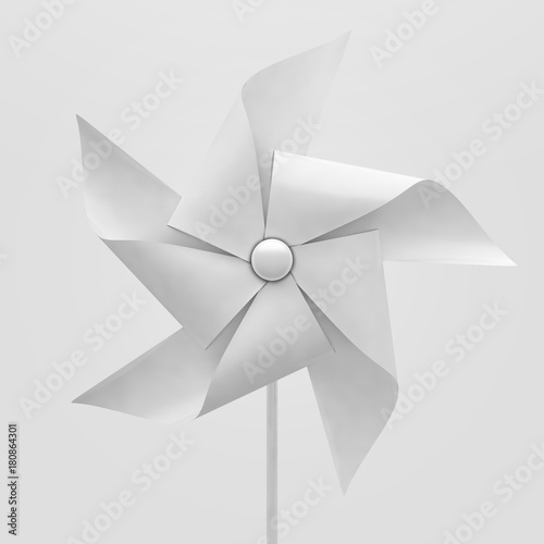 White Pinwheel Canvas-taulu