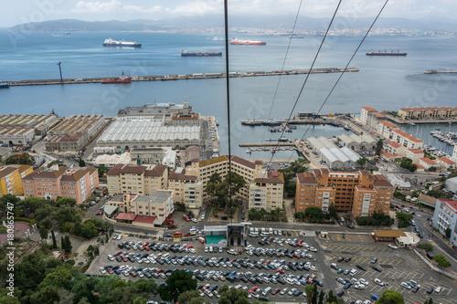 Papiers peints Paris Gibraltar panorama from Upper Rock
