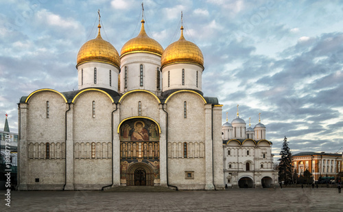 Dormition Cathedral, Moscow Canvas Print