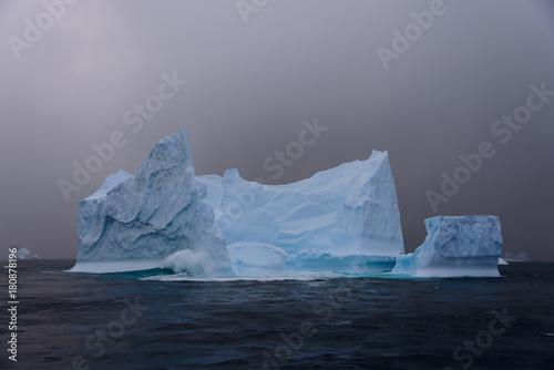 Spoed Foto op Canvas Antarctica Iceberg