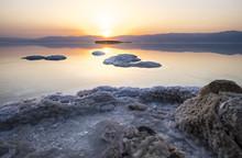 Dead Sea Sunrise. Israel Resort