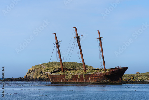 Poster Naufrage Wreck of sailing ship