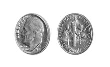 American One Dime Coin (10 Cen...
