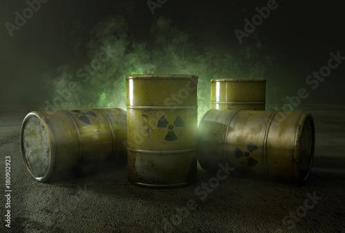 Foto Atommüll in Fässern