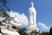 The Lady Buddha Statue (the Bodhisattva Of Mercy) At The Linh Ung Pagoda In Danang (Da Nang) Vietnam.