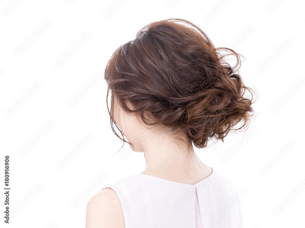 Fototapeta 女性 ヘアスタイル