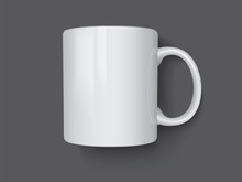 Realistic Mug Mock Up Vector T...
