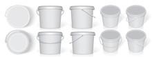 Plastic Bucket. Easy To Change...