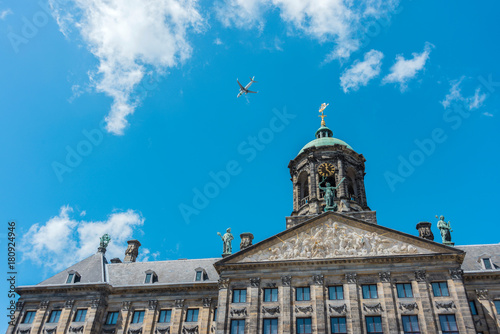 Royal Palace in Amsterdam, Netherlands Canvas Print