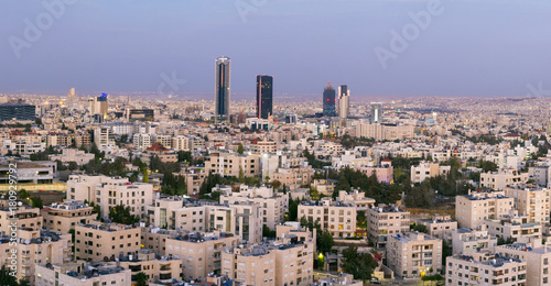 Photo the new downtown of Amman - Abdali area modern towers