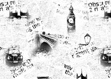 Black And White London Grunge ...