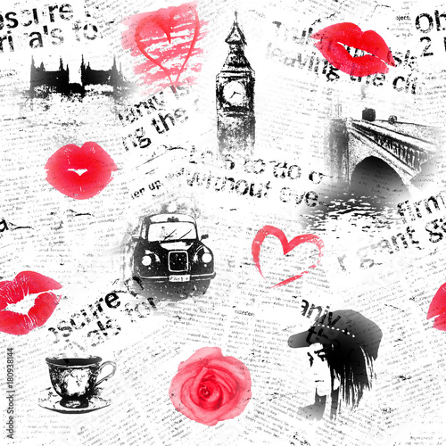 czarne-biale-i-czerwone-tlo-londynu