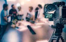Video Camera Taking Live Video...