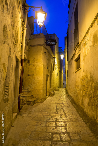 Photo Altamura, Italy - The historic center of the big city in province of Bari, Apuli