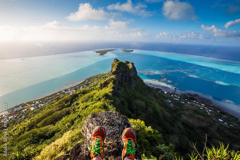 Fototapeta Mont Teurafaatiu