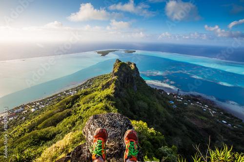 Mont Teurafaatiu Fototapeta