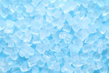 Winter Blue Ice Cube Texture Background