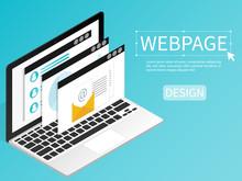 Create Website Webpage Design ...