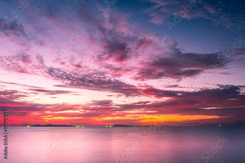 sunset-in-samui-island