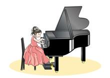 ピアノの発表会・子供